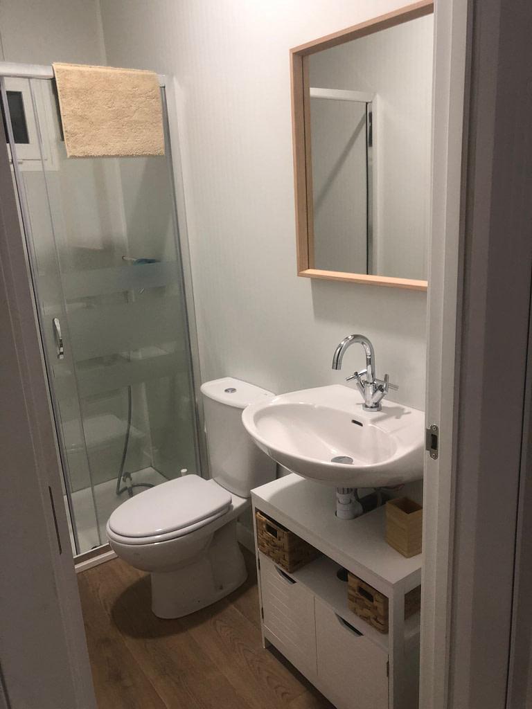 casa prefabricada de 40 m2 con baño
