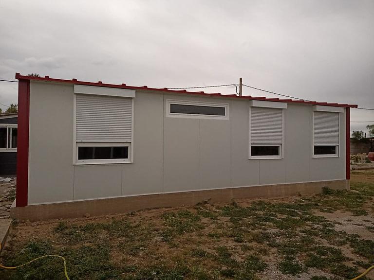 casa prefabricada de panel sándwich en zaragoza