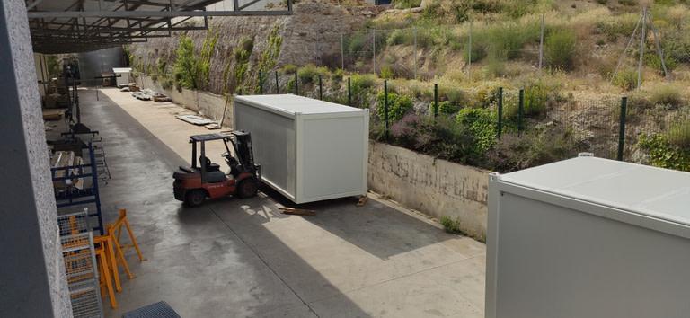 modulos prefabricados transportables