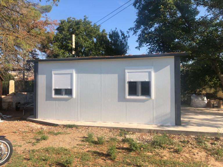 Vivienda de panel sándwich prefabricada de 40 m2