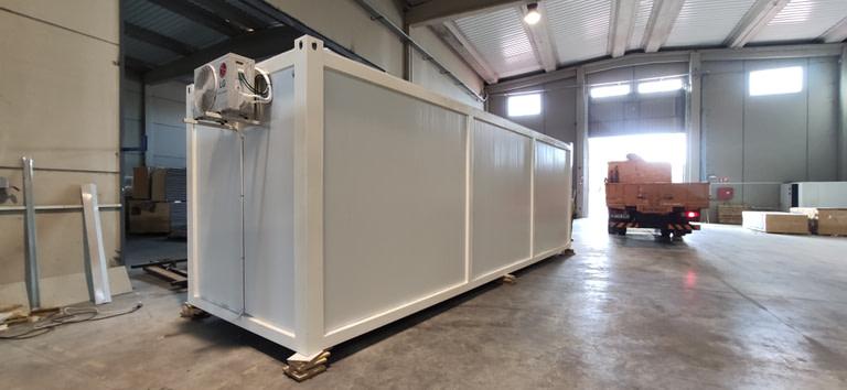 modulos prefabricado de 8 x 2,4 metros en zaragoza
