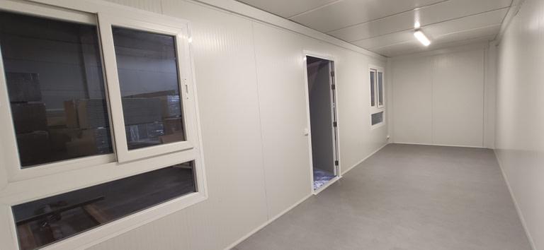 modulo prefabricado para comedor de 19 m2 en zaragoza