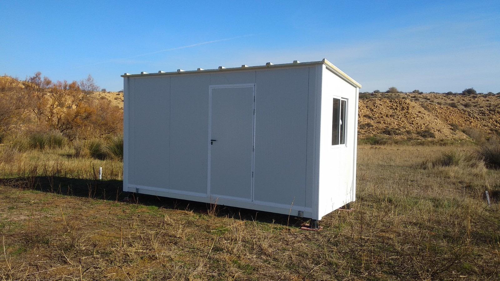 vivienda para campamento en zaragoza