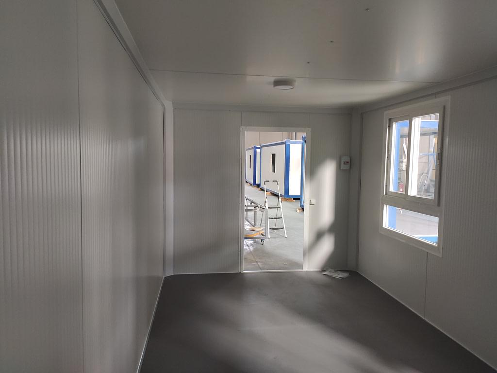caseta de obra 18 m2 interior