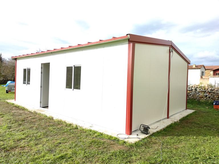 casa prefabricada de panel sandwich en burgos