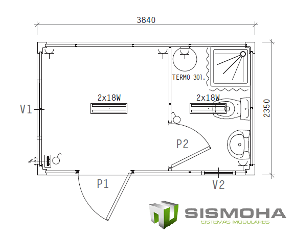 SMH3823-WD1 SISMOHA