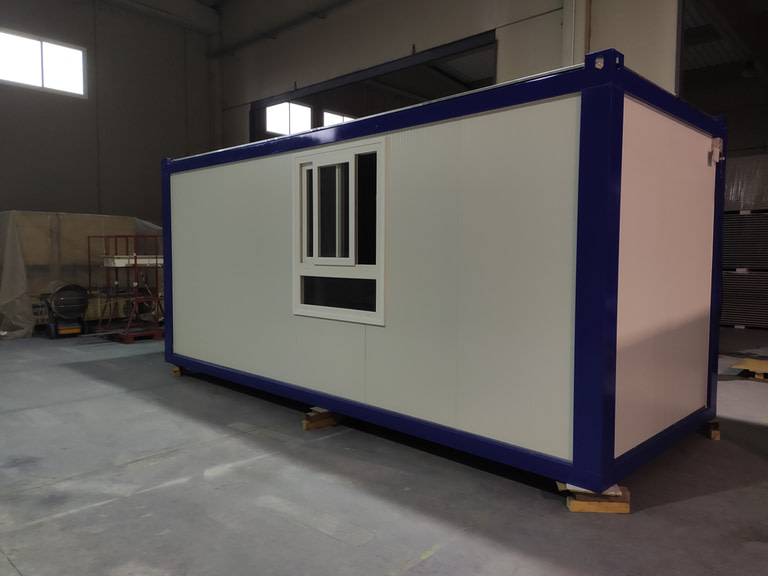 modulo prefabricado de 6 x 2,4 mts