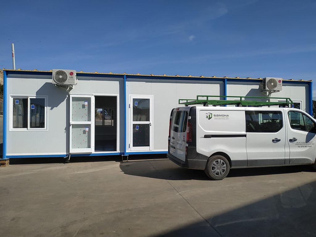oficinas modulares en zaragoza