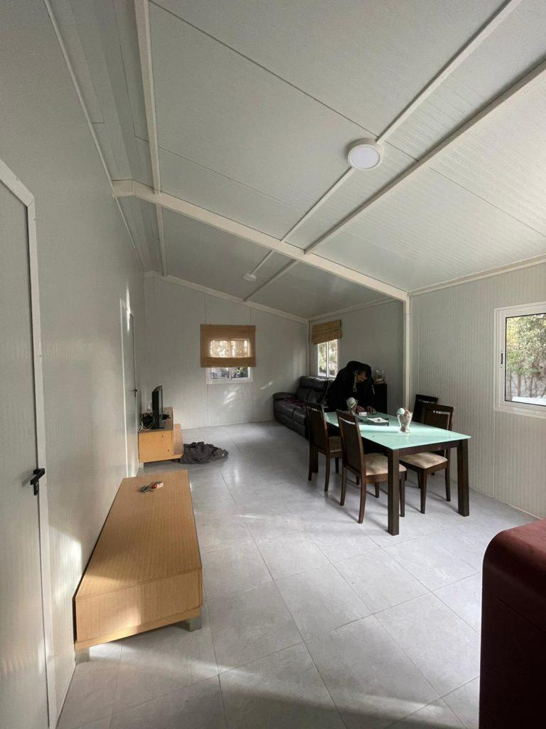 interior casa prefabricada de panel sandwich
